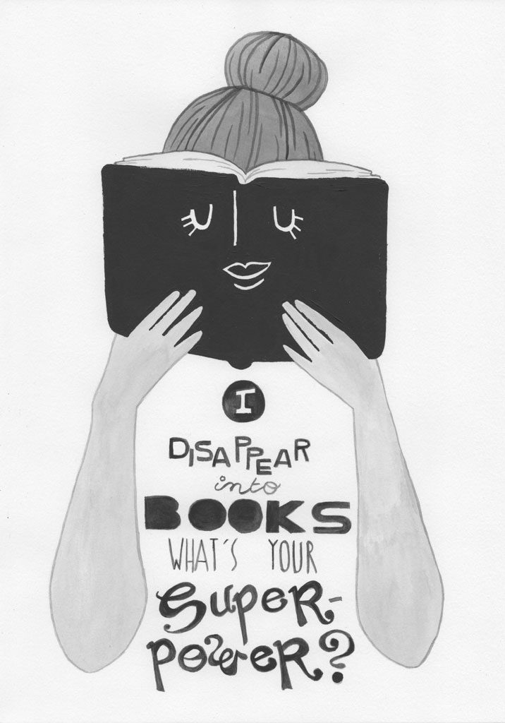 I-disappear-into-books