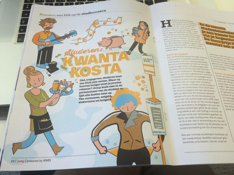Jump Vives magazine Maus
