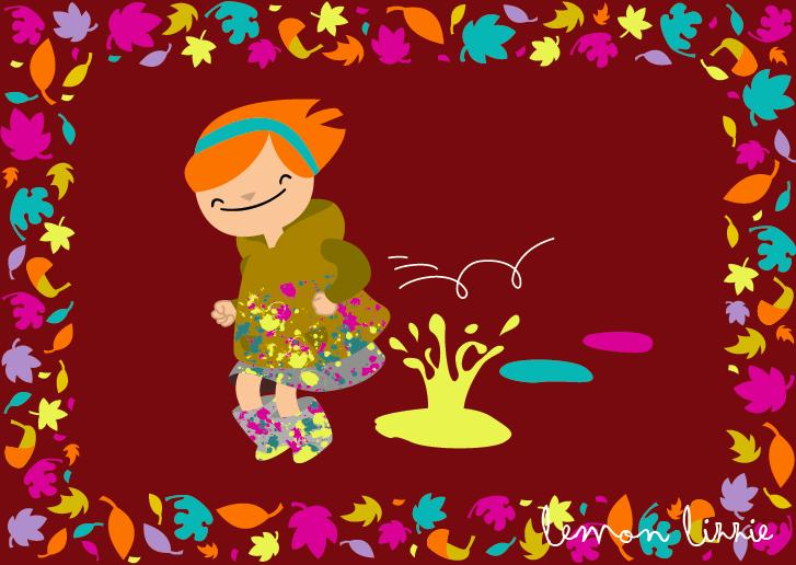 Autumn fun Lemon Lizzie