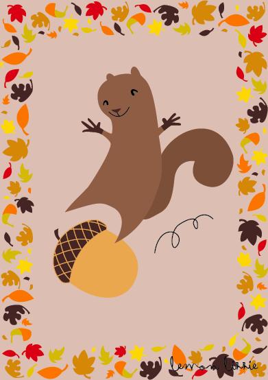 Squirrel Lemon Lizzie